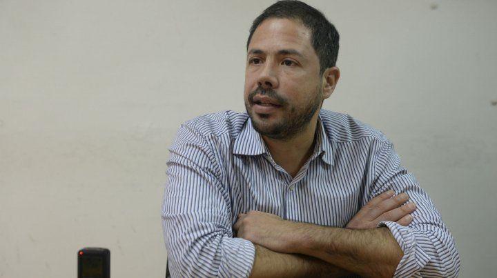 El candidato del oficialismo. Rodolfo Di Pollina va como número uno en la lista que gobierna el club desde hace cuatro años.