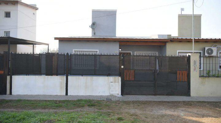 La vivienda donde fue asesinado el hombre oriundo de Colombia.