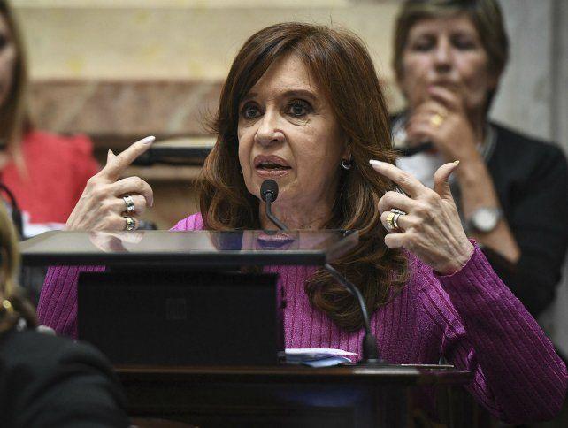 La expresidenta Cristina Fernández de Kirchner rechazó la acusación del empresario empresario Gabriel Romero.