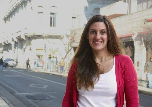 La investigadora de Conicet María Andrea Guisen.