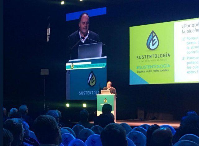 Taboada destacó el rol de los suelos como reguladores del clima a través del secuestro de carbono.