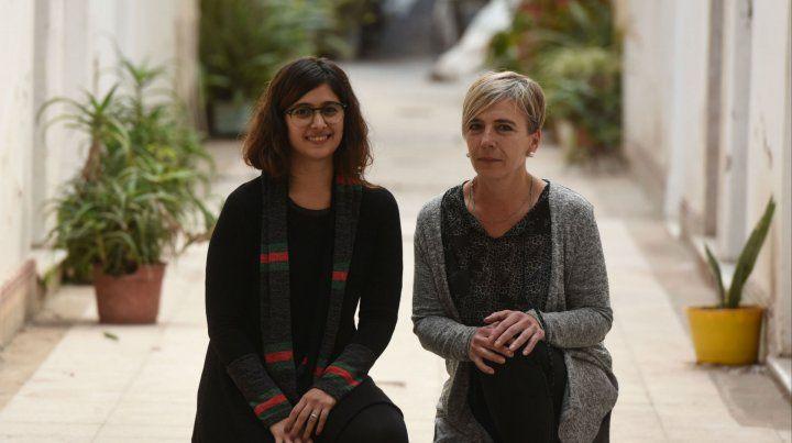 Investigadoras. Clara López Verrilli y Andrea Calamari