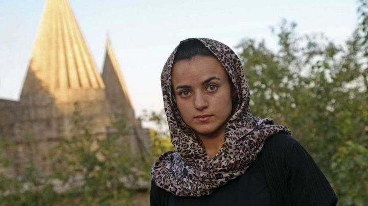Víctima. Ashwaq Haji es una de las tantas jóvenes secuestradas por el EI.