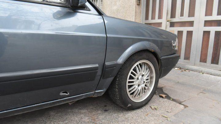 El policía cuyo auto y casa fueron baleados es custodio de la exjueza Rodenas