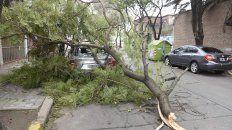 Rige un alerta por vientos fuertes para Rosario