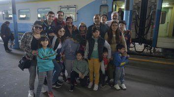 La familia ferroviaria volvió a celebrar el Día del Niño como lo hacía en los años de esplendor de los trenes argentinos.
