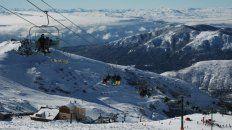 Nieve. Bariloche fue uno de los destinos más elegidos para pasar este fin de semana largo.