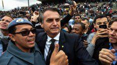 Avance ultraderechista. El diputado y ex militar Jair Bolsonaro lidera las preferencias, sin Lula en carrera.