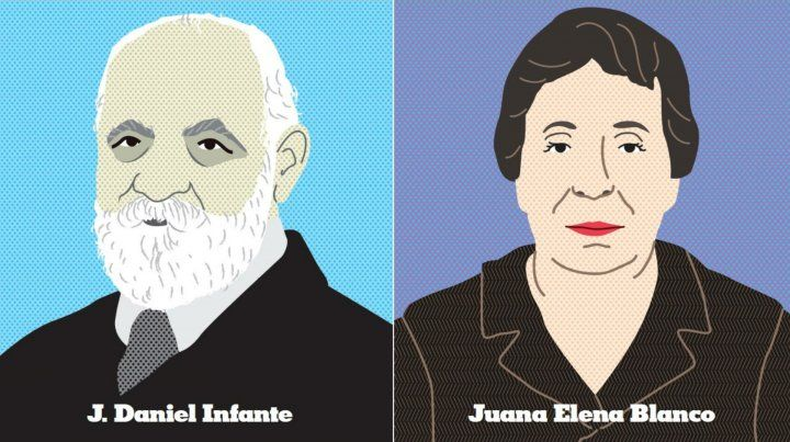 J. Daniel Infante y Juana Elena Blanco