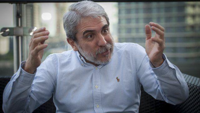 Aníbal Fernández apeló a una ironía para desacreditar la causa de los cuadernos