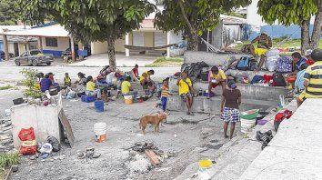 Extranjeros. Unos dos mil venezolanos vivían en situación de extrema pobreza en Paracaiba.