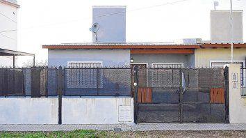 Víctima. El jueves en esta casa de Manuel Ugarte al 800 mataron a Joan Steven Grueso, colombiano de 23 años.