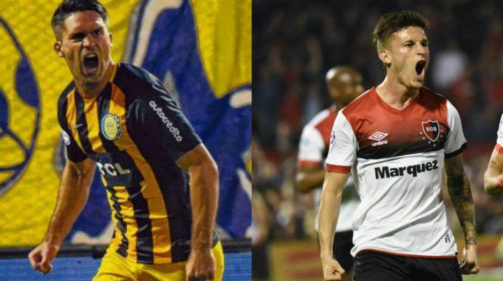Matías Caruzzo llegó como refuerzo a Central. Héctor Fértoli facturó ante el rojo.