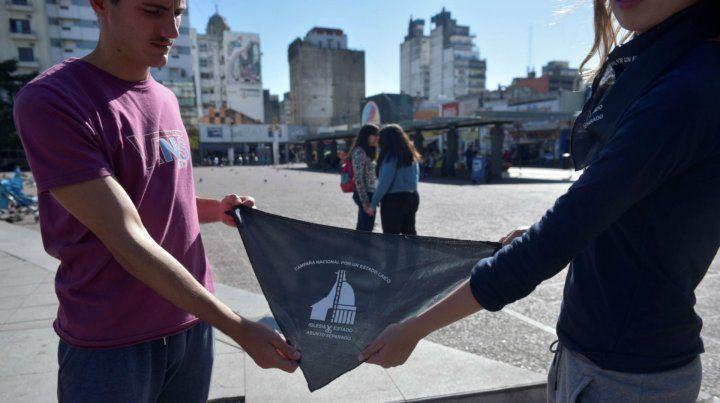 La campaña por un Estado laico se empieza a hacer sentir en Rosario