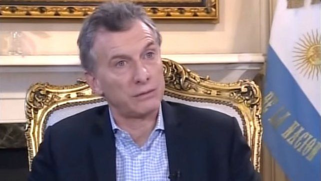 Macri: Muchos dicen que no me conviene que Cristina termine presa