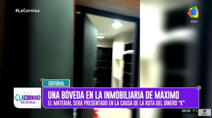 Stolbizer pide a la Justicia que investigue la posible bóveda de Máximo
