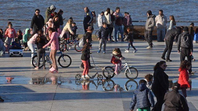 El Día del Niño en Rosario colmó los parques de actividades culturales