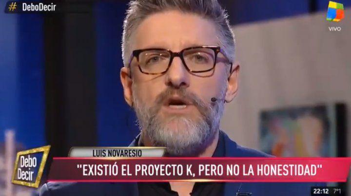 Dura editorial de Novaresio contra Cristina: En 48 horas se sabrá que se afanaron la plata