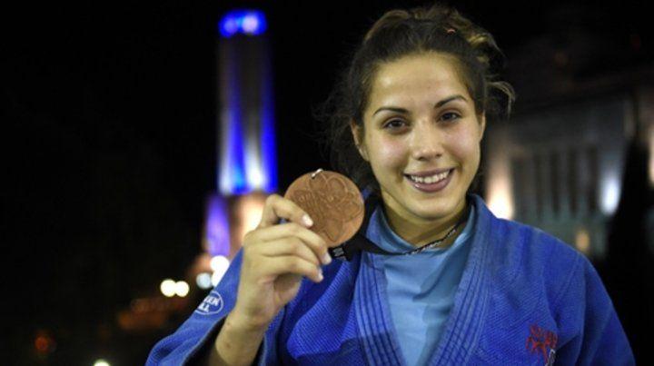 De Lucía. La judoca de Provincial irá por otra medalla al Mundial de Bahamas.