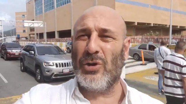 El periodista Santiago Cúneo.