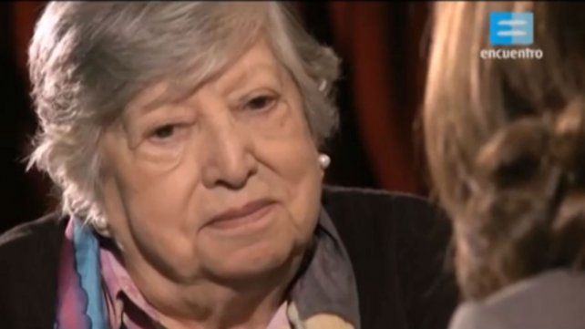 La lucha de Chicha Mariani por encontrar a su nieta Clara Anahí