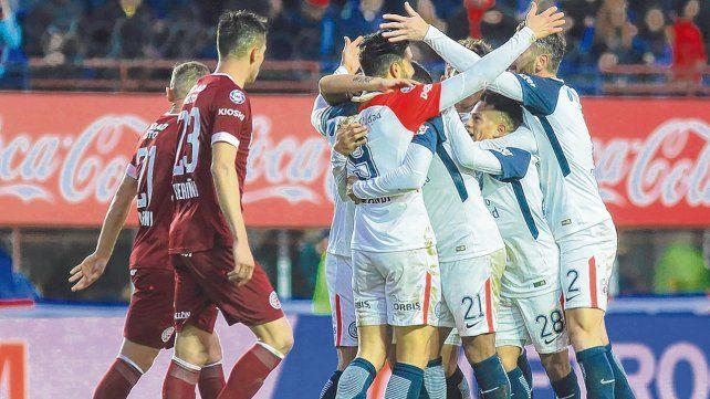 ¿El mejor? San Lorenzo y Lanús disputaron el partido más emotivo de la Superliga hasta aquí