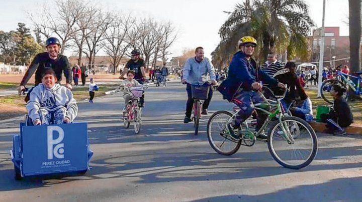 Servicio. La bicicleta adaptada
