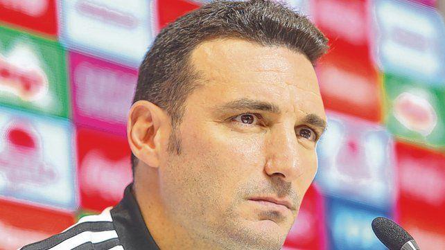 De Pujato a la selección. Lionel Scaloni es el técnico interino de la albiceleste y ayer explicó cuestiones de la lista de convocados.