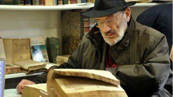 Umberto Eco, autor del célebre El nombre de la rosa.