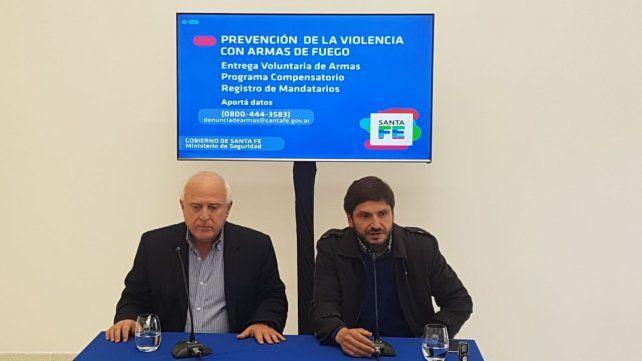 La provincia pagará entre 10 mil y 250 mil pesos a quienes aporten datos sobre la existencia de armas de fuego ilegales