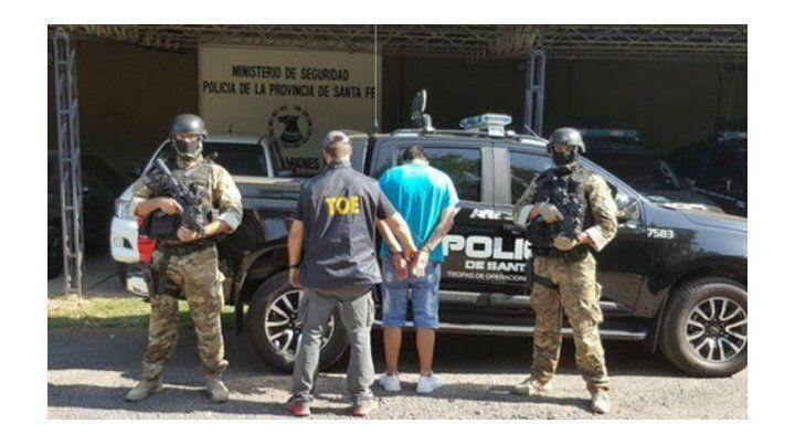 Lucas Sandoval fue detenido en febrero pasado acusado de haber baleado a dos primos en zona norte de Rosario.