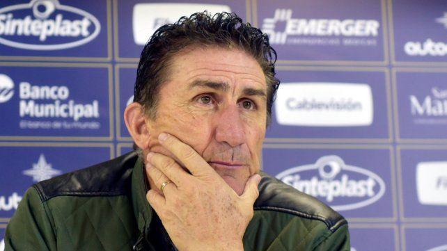 Bauza dijo que le prometió a Ruben que va a ser goleador con Central