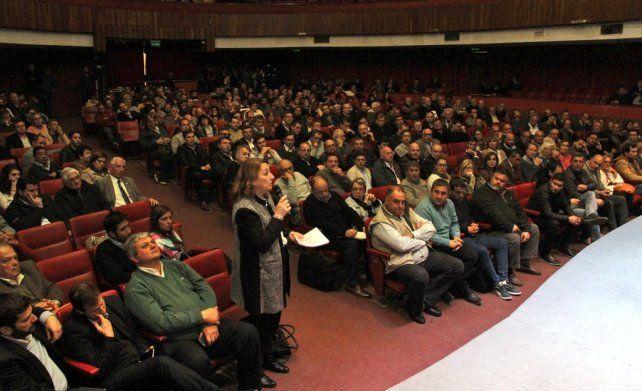 Hay un problema de gobernabilidad en Argentina, se quejó Fein en la reunión por el fondo sojero