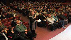 argentina tiene problemas de gobernabilidad, se quejo fein en la reunion del fondo sojero