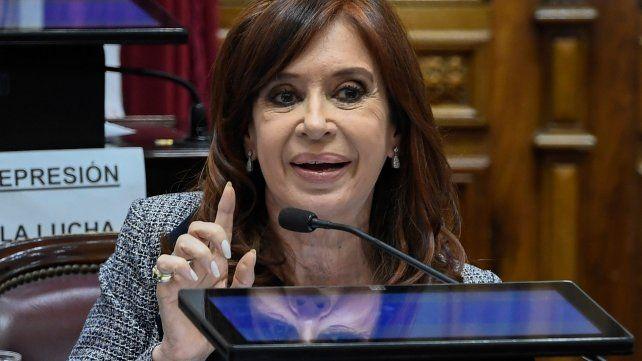 Cristina Kirchner cuestionó al Poder Judicial