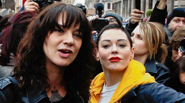 En problemas.Argento admitió el pago para silenciar al joven cantante.