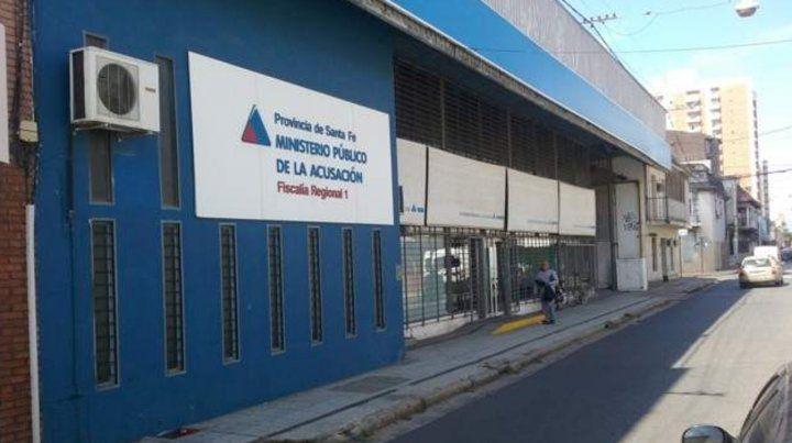 Ezequiel y Mauricio M. se presentaron espontáneamente  en la sede de la Fiscalía Regional de Mitre al 2800 y quedaron  detenidos.