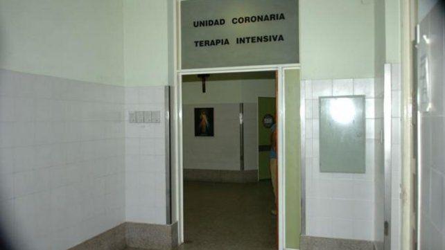 Martínez falleció en la Unidad de Terapia Intensiva del Hospital Cullen.