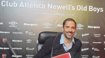 Sonriente.  Vuelvo al club donde pasé los mejores años de mi vida, dijo ayer Sebastián Peratta.