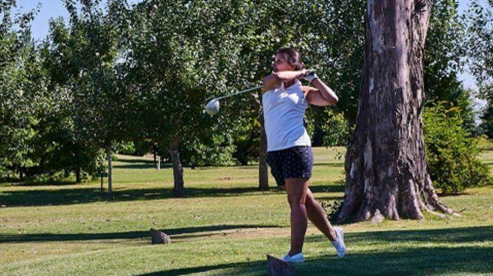 Hoyo. El golf es una de las actividades de la estancia