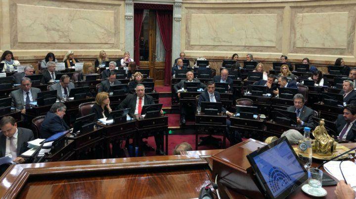 El Senado aprobó de madrugada la ley de extinción de dominio