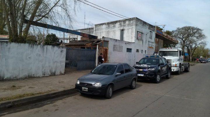 El desarmadero donde asesinaron a un hombre de 29 años. (Foto: gentileza MPA)