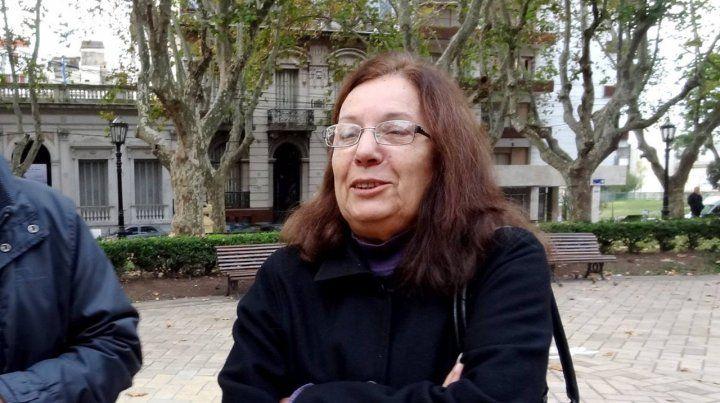 La militante feminista Viviana Della Siega