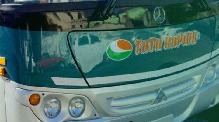 Juárez es chofer de la empresa Tata Rápido.