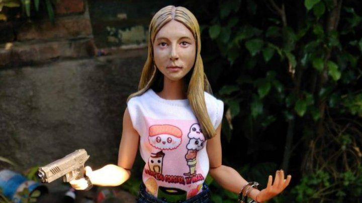 Un coleccionista rosarino encargó una muñeca de Nahir Galarza