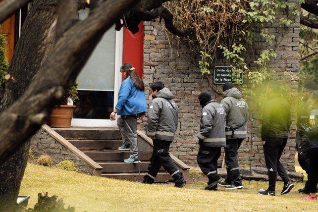 Casi dos horas de allanamiento en la casa de Cristina Kirchner  en El Calafate