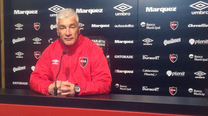 El técnico leproso no confirmó el equipo para enfrentar el lunes al Tomba. (Foto: @CANOBoficial)