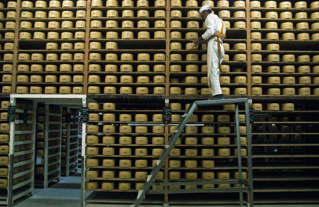 Los reintegros a la exportación de quesos se redujeron del 5% al 2