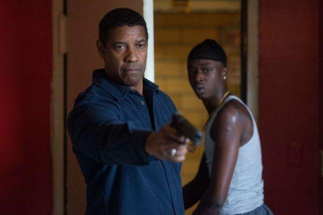 Denzel Washington vuelve con un papel a su medida.