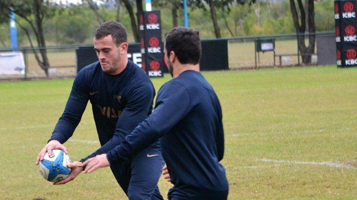Titular. Emiliano Boffelli será nuevamente el fullback titular del equipo argentino.